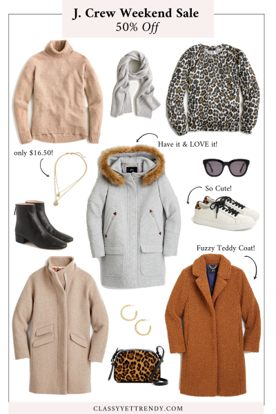 BLOG POST - J CREW WEEKEND SALE OCT20