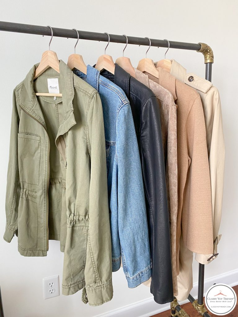 My Fall 2020 Neutral Capsule Wardrobe - outerwear