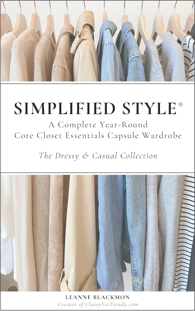 Simplified Style - A Year-Round Core Closet Essentials Capsule Wardrobe 2020 400X600