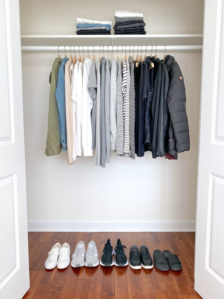 Simplified Style Athleisure Capsule Wardrobe - closet