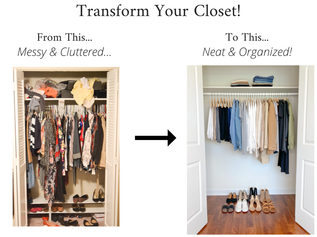 Transform Your Closet - Simplified Style 2020