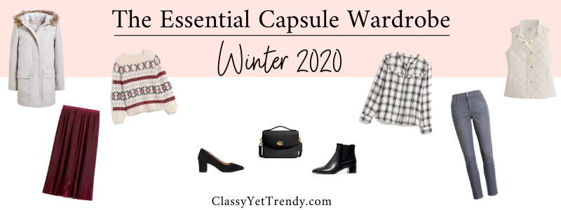 BANNER 800X300 - The Essential Capsule Wardrobe - Winter 2020