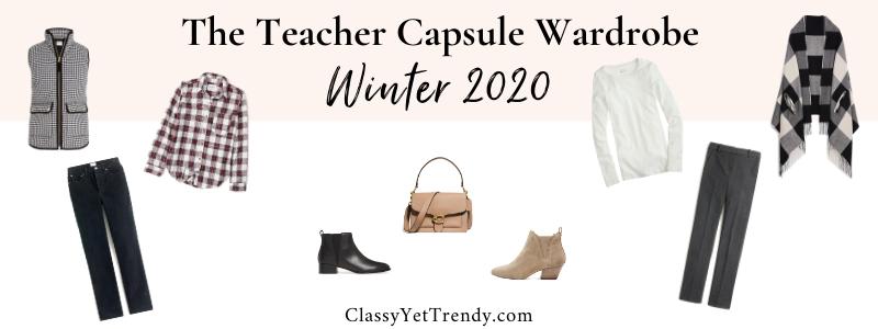 BANNER 800X300 - The Teacher Capsule Wardrobe - Winter 2020