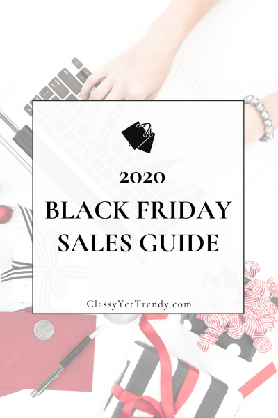 Black Friday 2020 Sales Guide