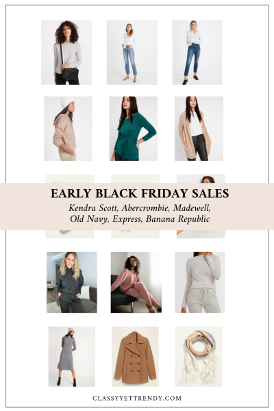 EARLY BLACK FRIDAY SALES 2020