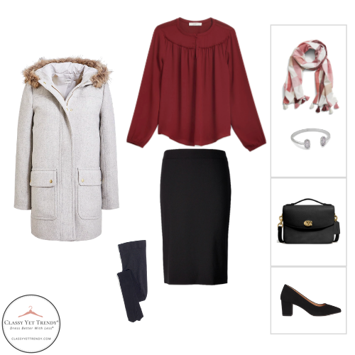 Essential Capsule Wardrobe Winter 2020 - outfit 7