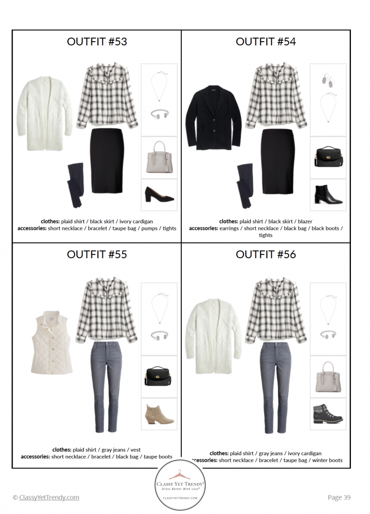 Essential Capsule Wardrobe Winter 2020 - pg 39