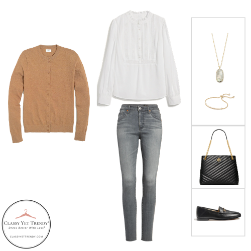 French Minimalist Capsule Wardrobe Winter 2020 - outfit 11
