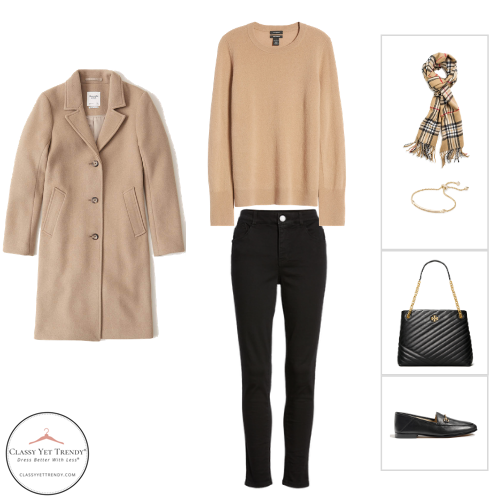 French Minimalist Capsule Wardrobe Winter 2020 - outfit 25