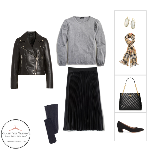 French Minimalist Capsule Wardrobe Winter 2020 - outfit 31