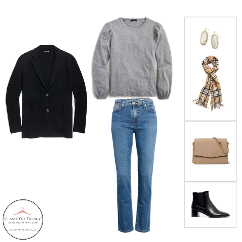 French Minimalist Capsule Wardrobe Winter 2020 - outfit 32