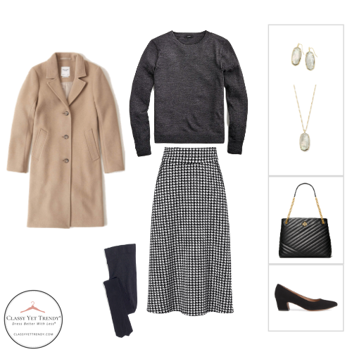 French Minimalist Capsule Wardrobe Winter 2020 - outfit 38