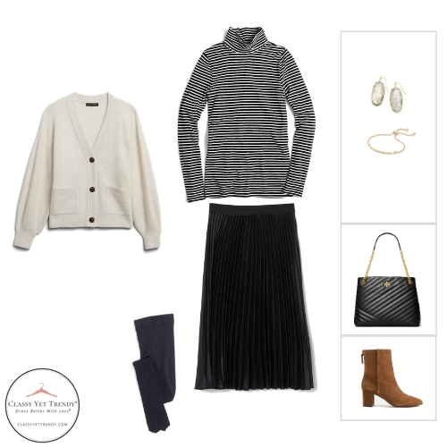 French Minimalist Capsule Wardrobe Winter 2020 - outfit 53