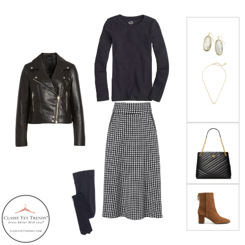 French Minimalist Capsule Wardrobe Winter 2020 - outfit 64