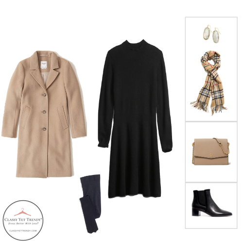 French Minimalist Capsule Wardrobe Winter 2020 - outfit 79