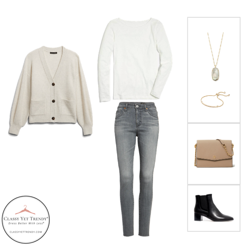 French Minimalist Capsule Wardrobe Winter 2020 - outfit 97