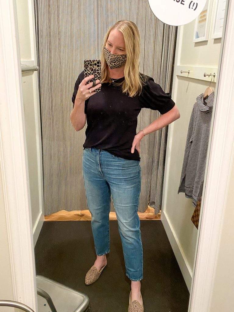 Madewell Saks Express Abercrombie Try-on Session - Vintage Straight Jeans