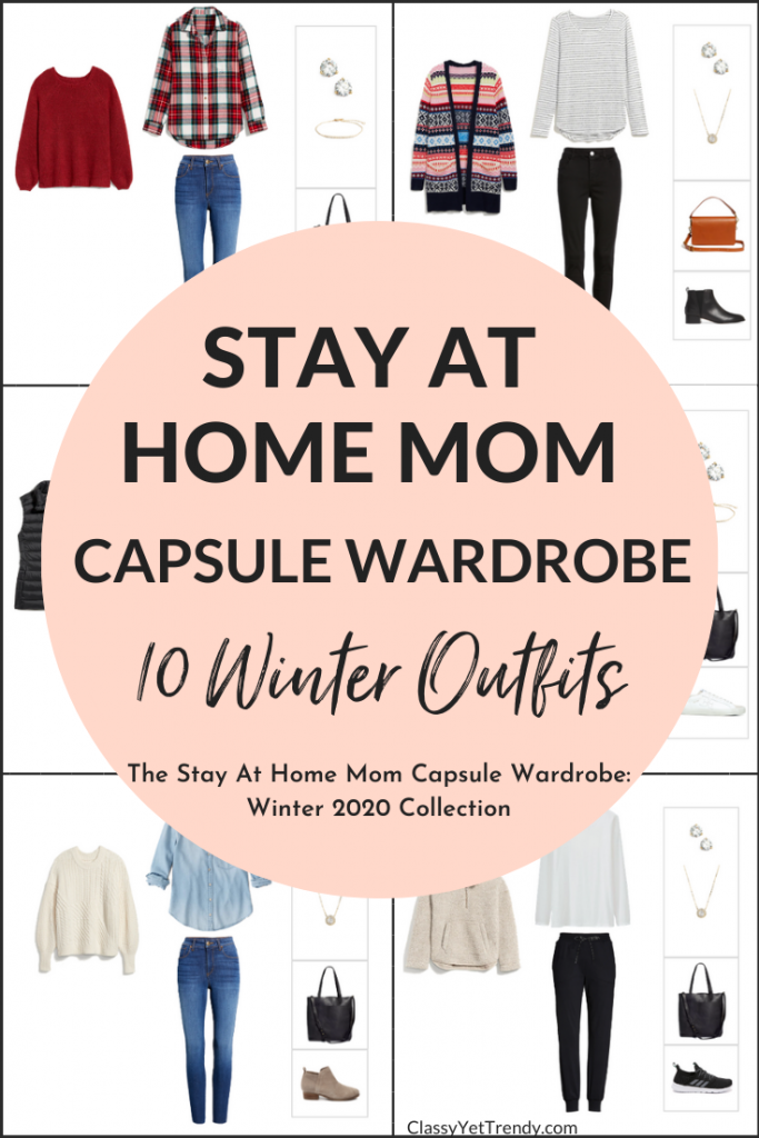Stay At Home Mom Capsule Wardrobe Winter 2020 Preview - 10 Outfits