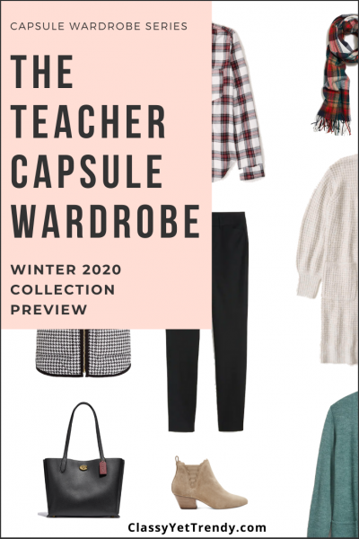 Teacher Capsule Wardrobe Winter 2020 Preview1