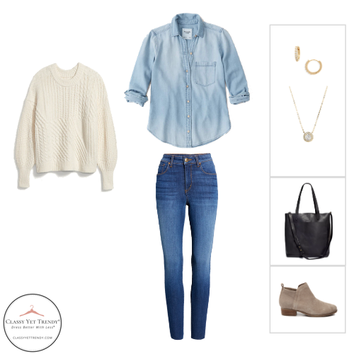 The Stay At Home Mom Capsule Wardrobe Winter 2020 - outfit 36