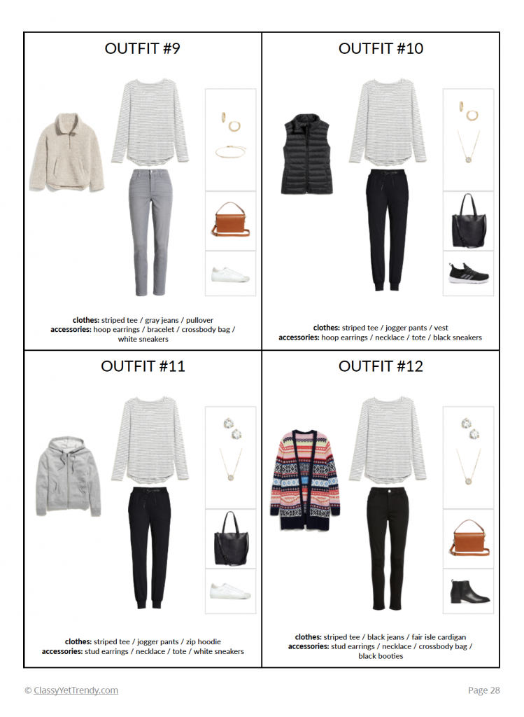 The Stay At Home Mom Capsule Wardrobe Winter 2020 - pg 28