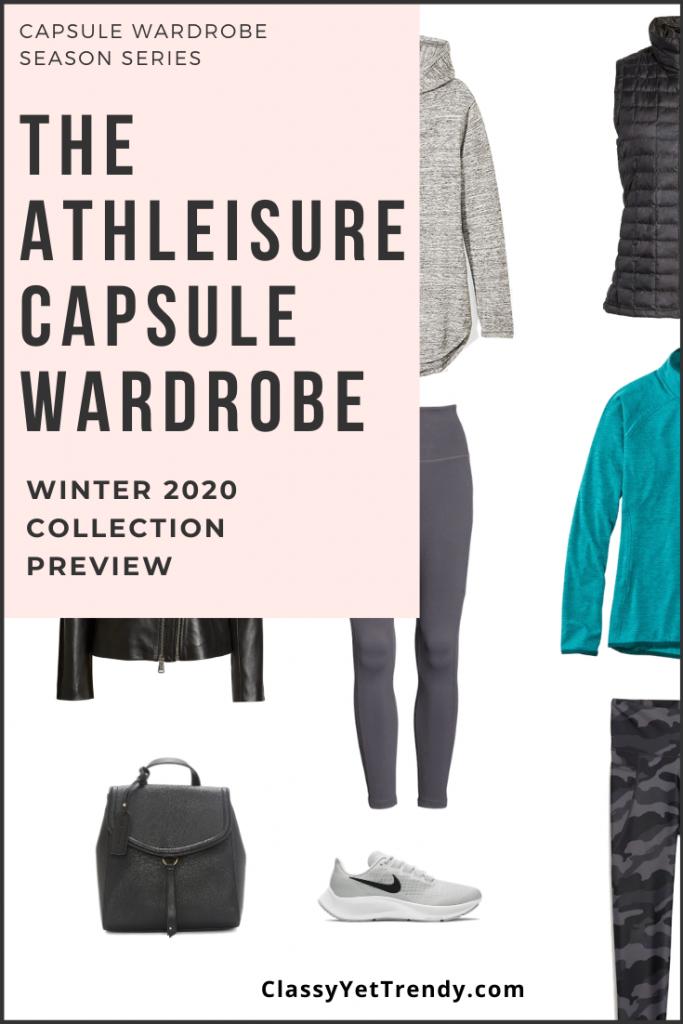 Athleisure Capsule Wardrobe Winter 2020 Sneak Peek Pin2