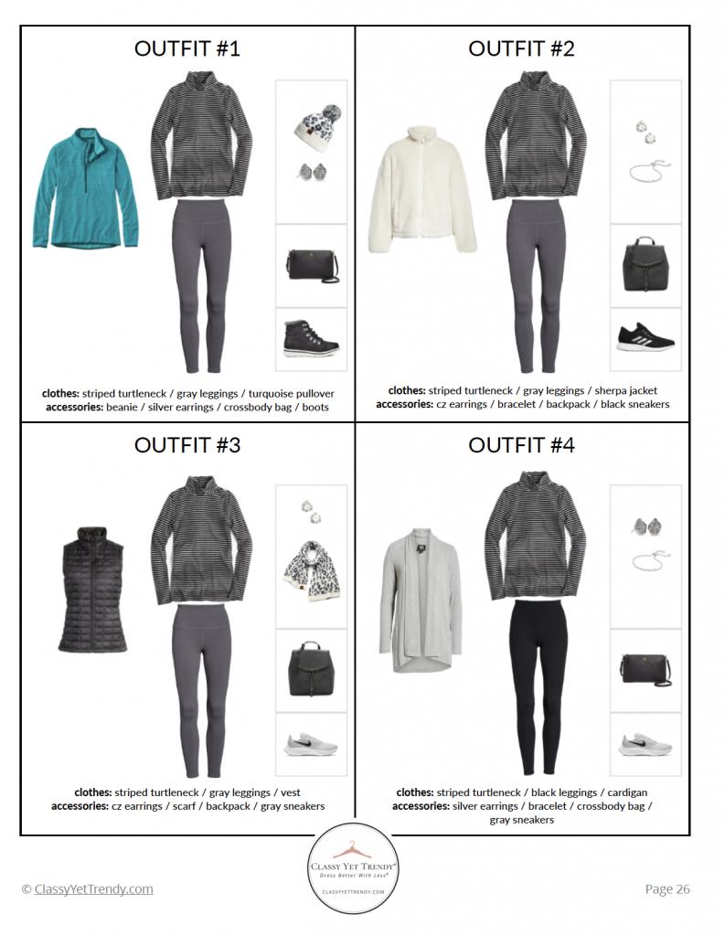 Athleisure Capsule Wardrobe Winter 2020 - pg 26