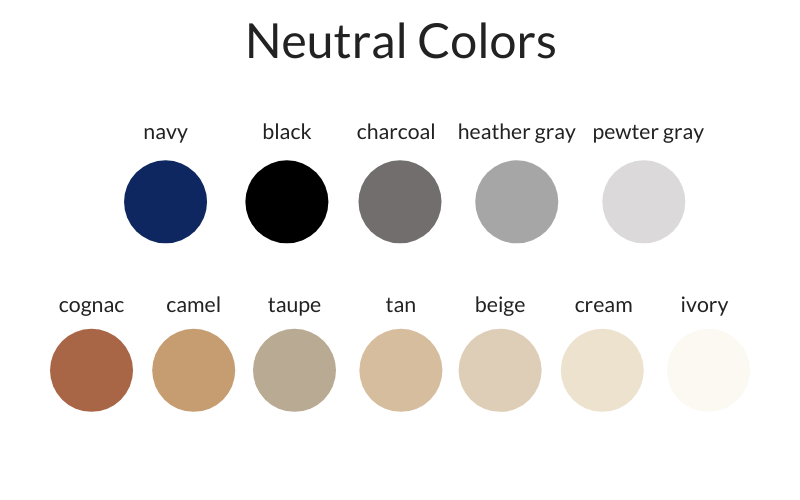 Simplified Style Neutral Colors