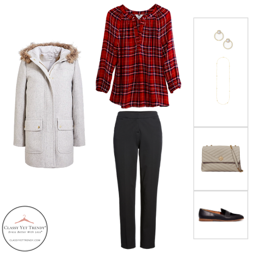 Workwear Capsule Wardrobe Winter 2020 - outfit 17