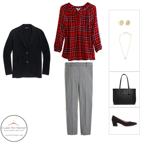 Workwear Capsule Wardrobe Winter 2020 - outfit 19