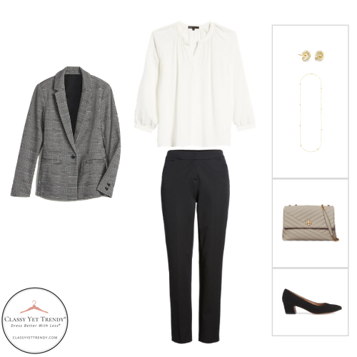 Workwear Capsule Wardrobe Winter 2020 - outfit 3