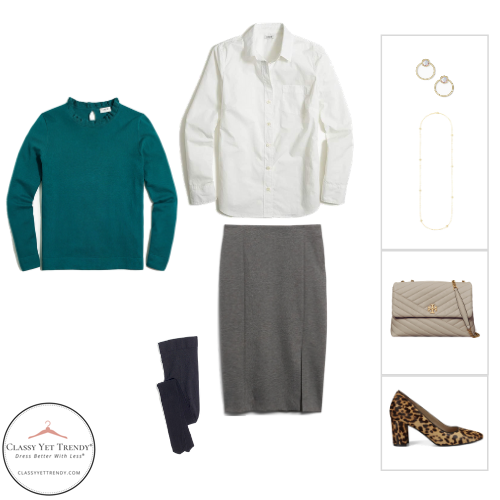 Workwear Capsule Wardrobe Winter 2020 - outfit 39