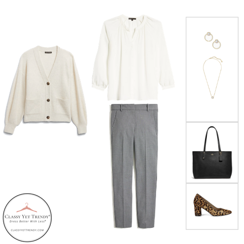 Workwear Capsule Wardrobe Winter 2020 - outfit