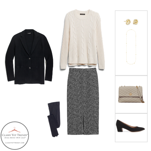 Workwear Capsule Wardrobe Winter 2020 - outfit 68