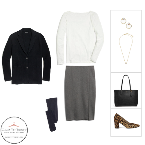 Workwear Capsule Wardrobe Winter 2020 - outfit 92