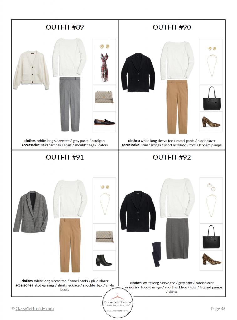 Workwear Capsule Wardrobe Winter 2020 - pg 48