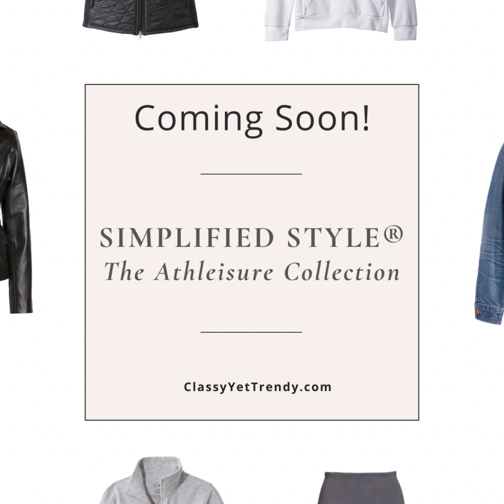Coming Soon - Simplified Style Athleisure