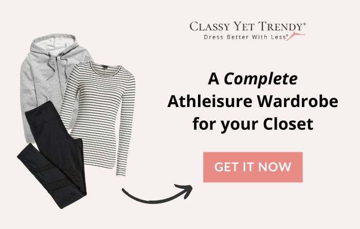 Complete Athleisure Wardrobe For Your Closet banner