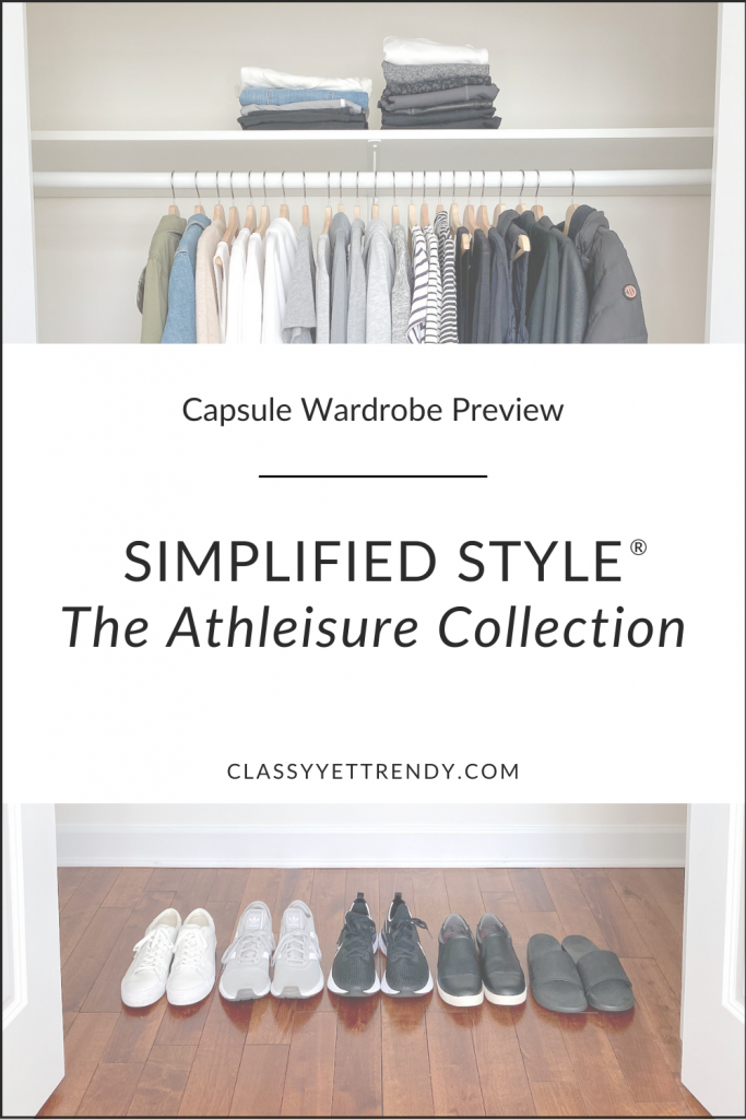 Simplified Style Athleisure Capsule Wardrobe Preview
