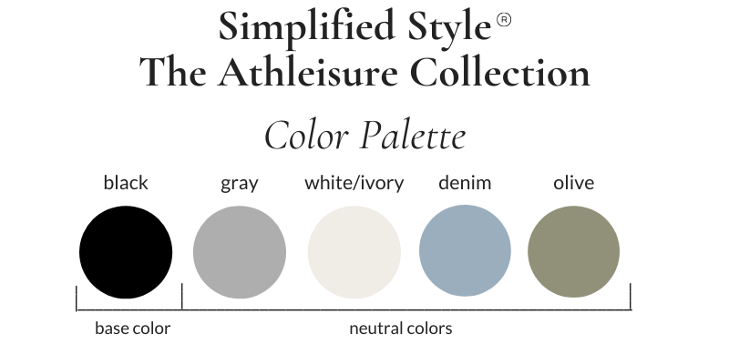 Simplified Style Athleisure Color Palette