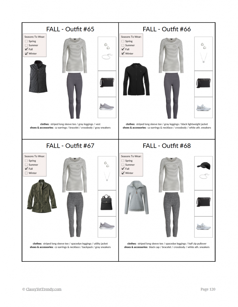 Simplified Style Athleisure - Fall Outfits