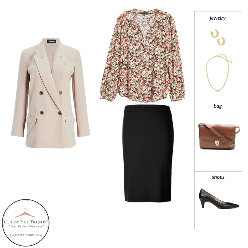 Essential Capsule Wardrobe Spring 2021 - outfit 7