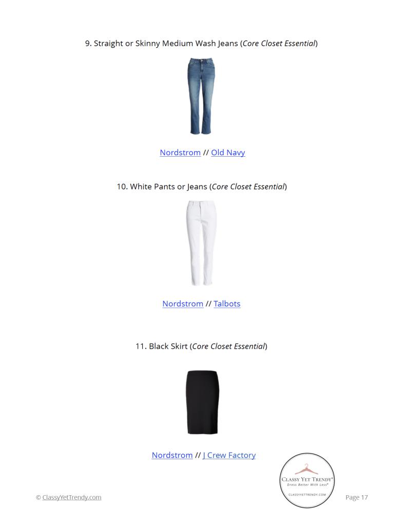Essential Capsule Wardrobe Spring 2021 - pg17
