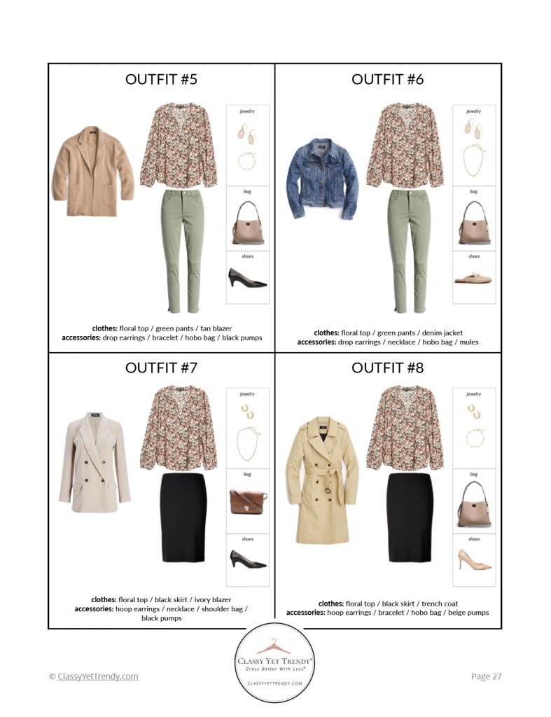 Essential Capsule Wardrobe Spring 2021 - pg27
