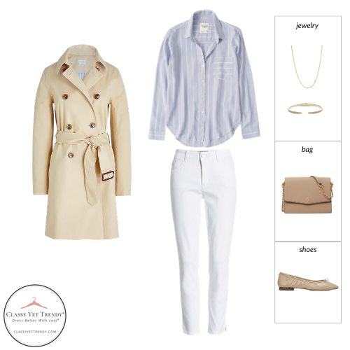 French Minimalist Capsule Wardrobe Spring 2021 - outfit 16