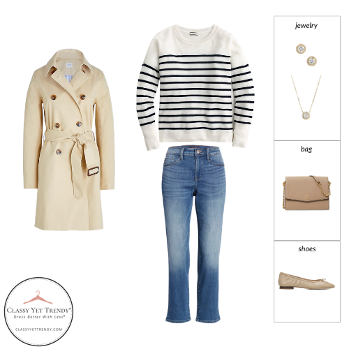 French Minimalist Capsule Wardrobe Spring 2021 - outfit 33