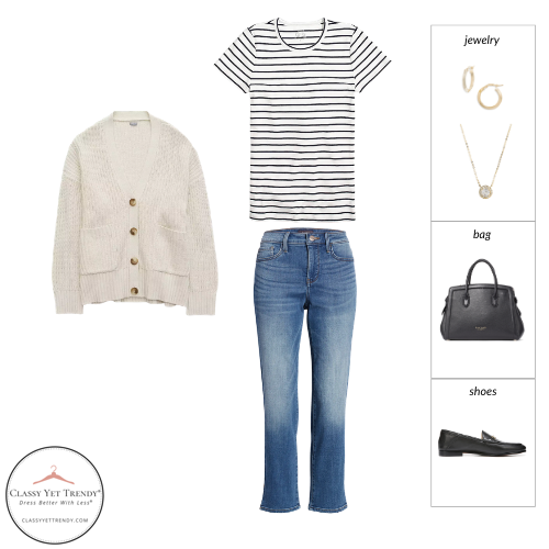 French Minimalist Capsule Wardrobe Spring 2021 - outfit 75