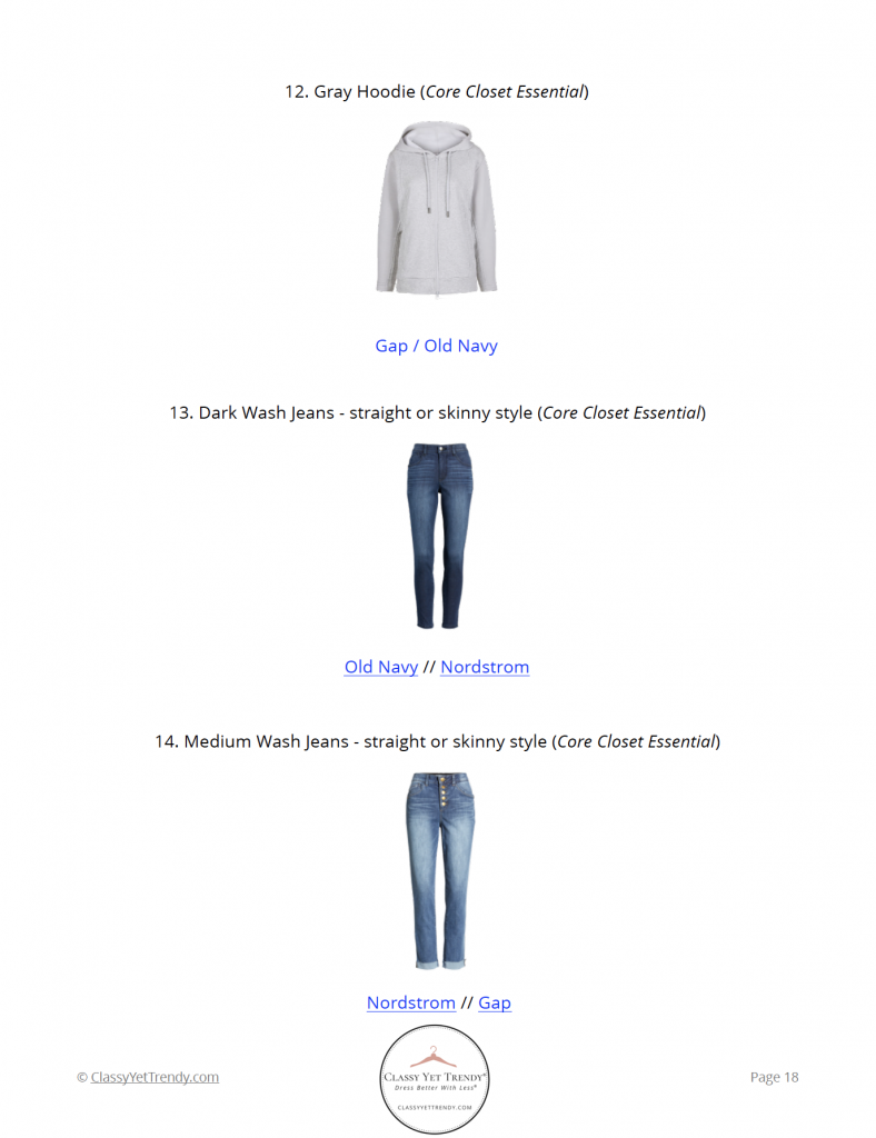 Stay At Home Mom Spring 2021 Capsule Wardrobe - pg 18