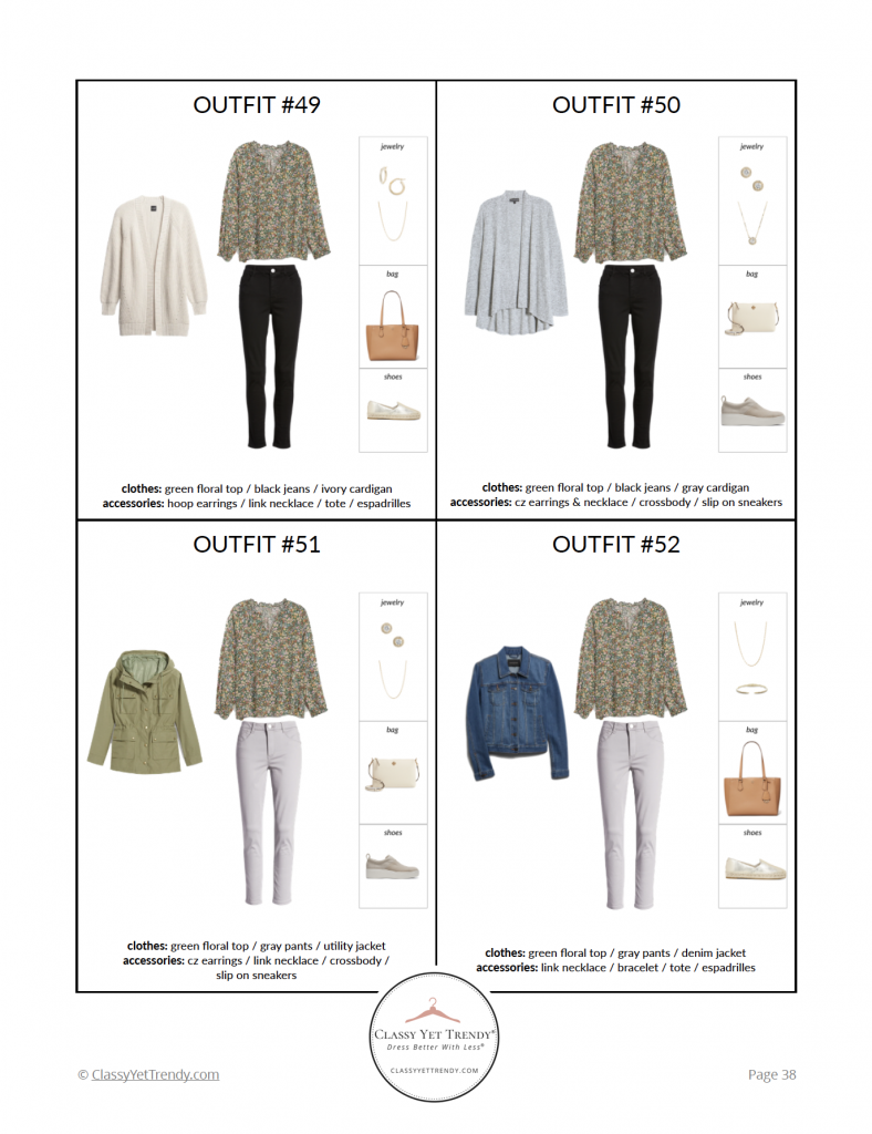 Stay At Home Mom Spring 2021 Capsule Wardrobe - pg 38