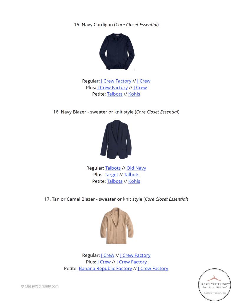 Teacher Capsule Wardrobe Spring 2021 - pg 19